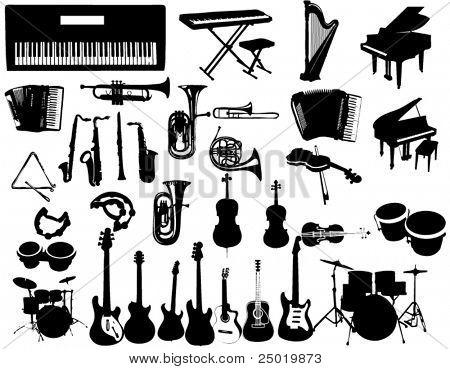 Instrumentos de la música