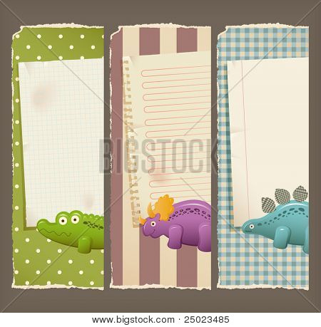 Paper banners & toys