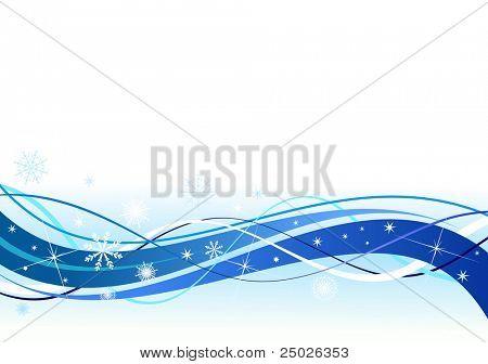 Schneeflocke-Vektor-Linie