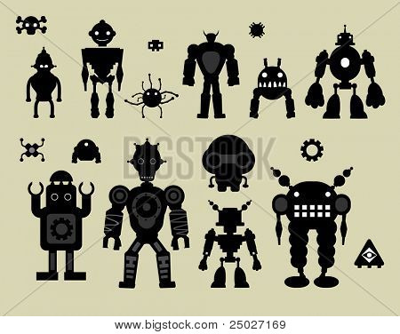 vector robot set#3