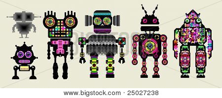 a team of robots.  see more in my portfolio