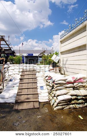 Bangkok Thailand ,flood Protect