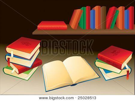 Bücher-Regal