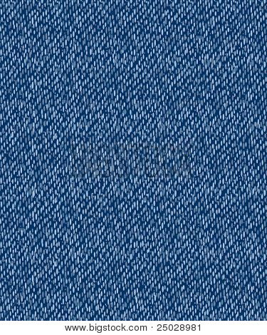 vector illustration - blue jeans seamless pattern