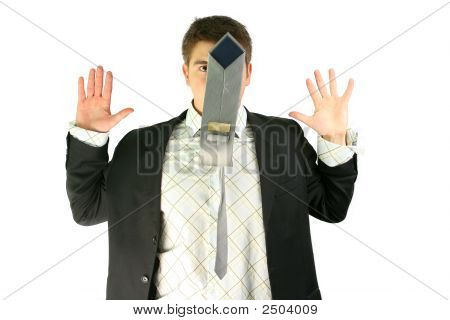 Businessman And Tie