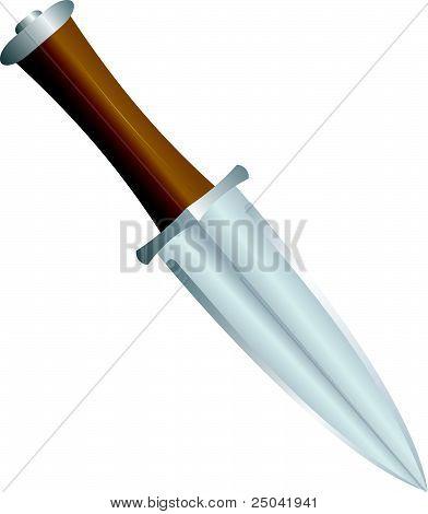 Finnish Knife. Vector