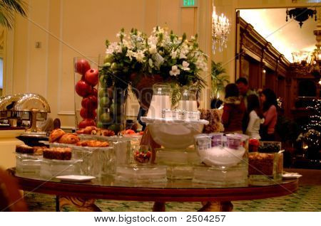 Fruit And Cereal Buffet