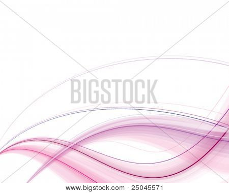 Vector. Abstract pink silky background. Free space for your message.