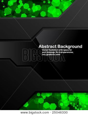 Dark background with random transparent cells. Vector illustration in RGB colors.
