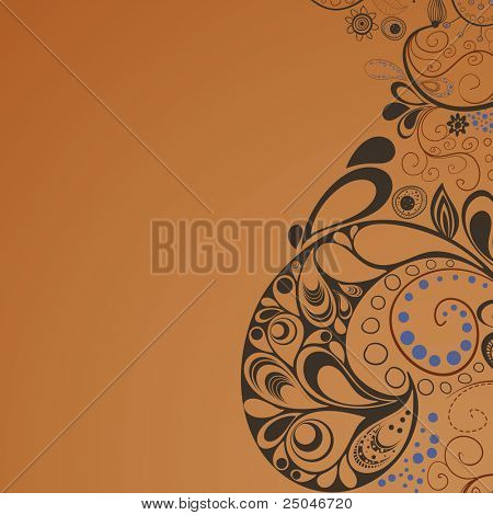 Hand drawn graphic for your design. All elements were placed in clipping mask and are easy to edit. CMYK colors.