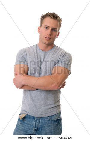 Attentive Man