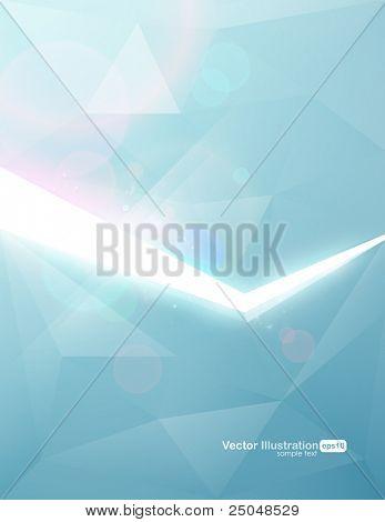 Vektor. Eps10. Trendige Hintergrunddesign.