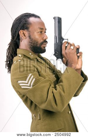 Rasta Army Black Man