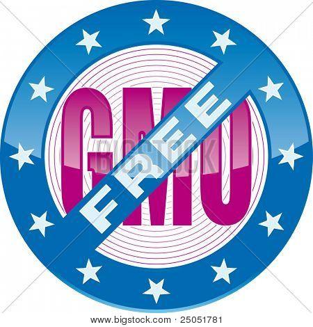 signo de OGM editable