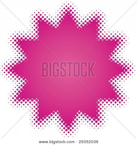 purple star (from dots design series)