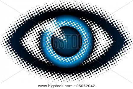 ojo (de la serie de diseño de puntos)