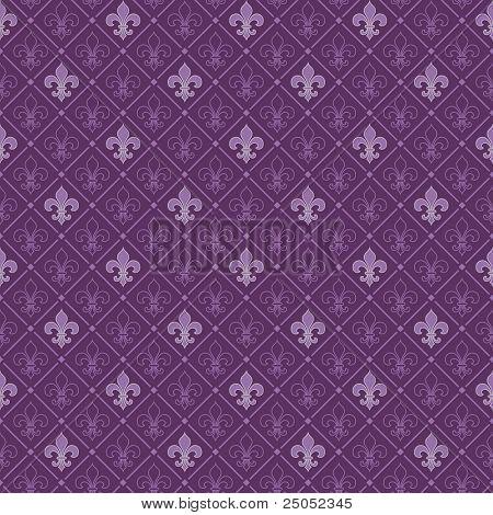 fleur de lis seamless pattern