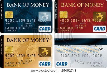 Credit Cards  (vector enable in portfolio)