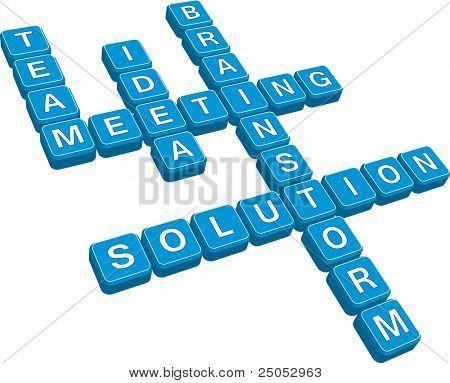 business crossword