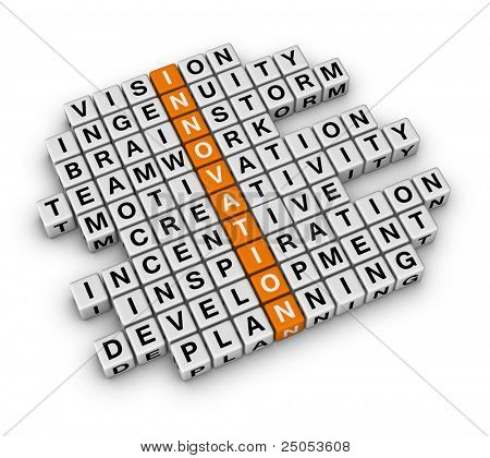 New Business Innovation (3D crossword orange series)
