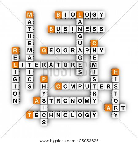 lessons plan (3D crossword orange series)
