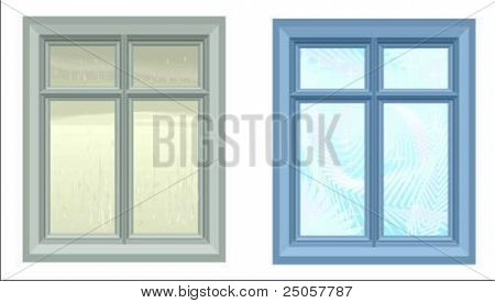 two vector windows