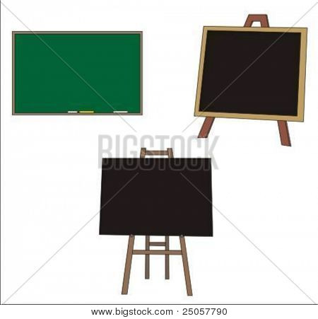 blank writing boards, write what you want on them