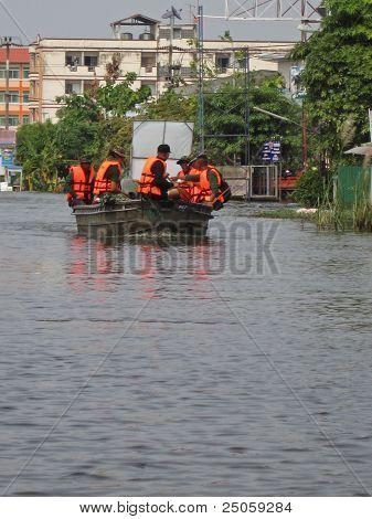 Rescue Team at Work