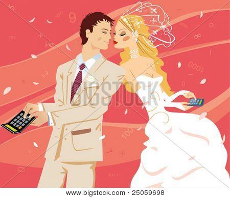 wedding by calculation