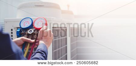 Air Conditioning Technician And A
