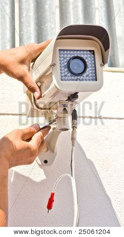 Setup Cctv Camera