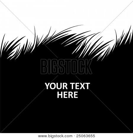 Grass background. Vector illustration.