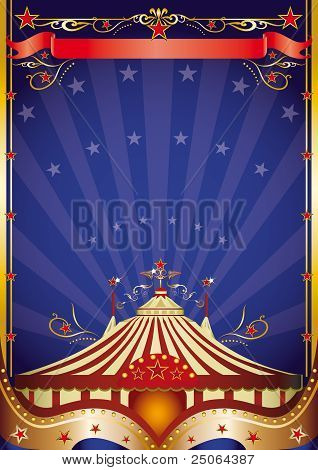 Big Top At Night