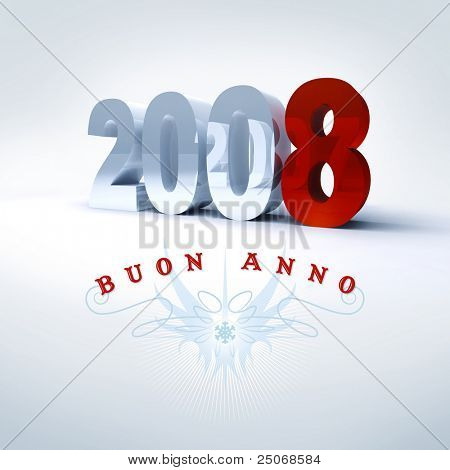 Happy New Year in italian, 2008