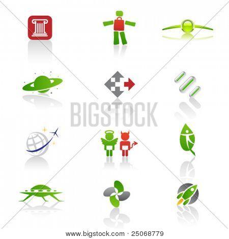 Conjunto de logotipos originales. Vector 1