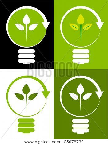 Concepto de energías renovables.
