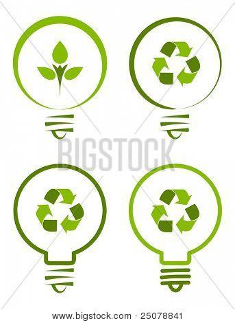 Renewable green energy concept.