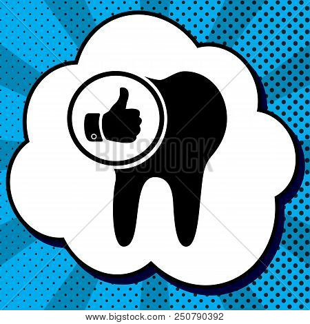 Tooth Sign With Thumbs Up