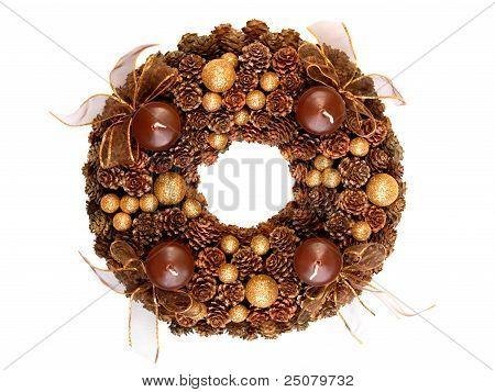 Modern advent wreath
