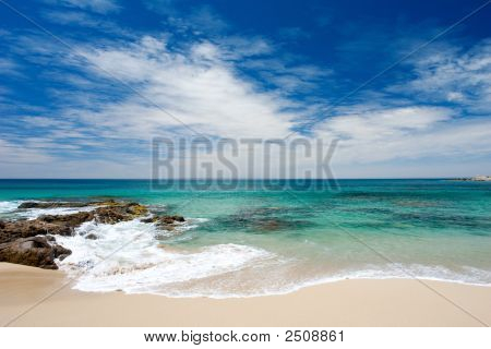 Peaceful Summer Beach