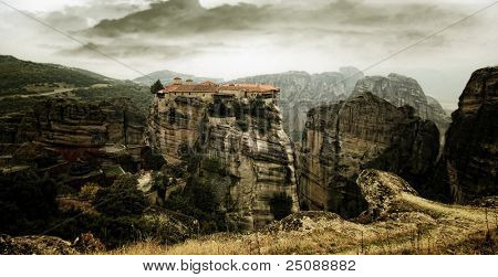 The famous Meteora Monasteries, Greece