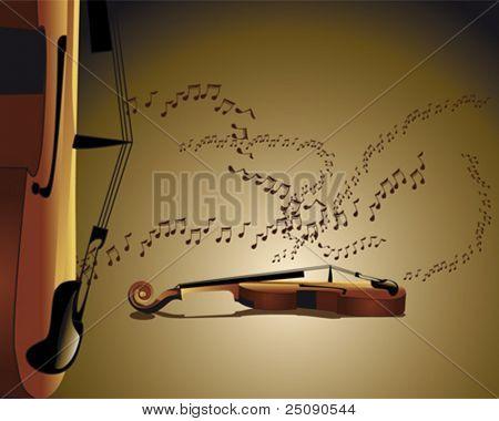 sound of the violin