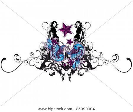 ornament emblem