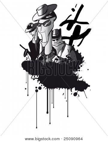 graffiti gangster