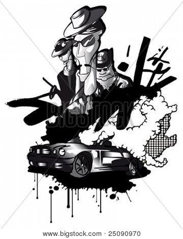 mafia collage