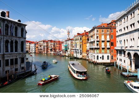 Venice,Beautiful water street
