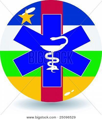 Vector Illustration Of Signs National Medicine Of Car