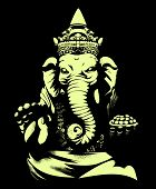 stock photo of tusks  - Ganesh - JPG