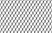 Seamless iron net illustration. metal net fence. background