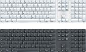 stock photo of qwerty  - computer keyboard with option of black or white - JPG